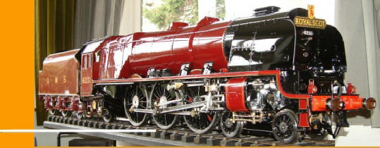 Trick Train: Large scale steam locomotive kits